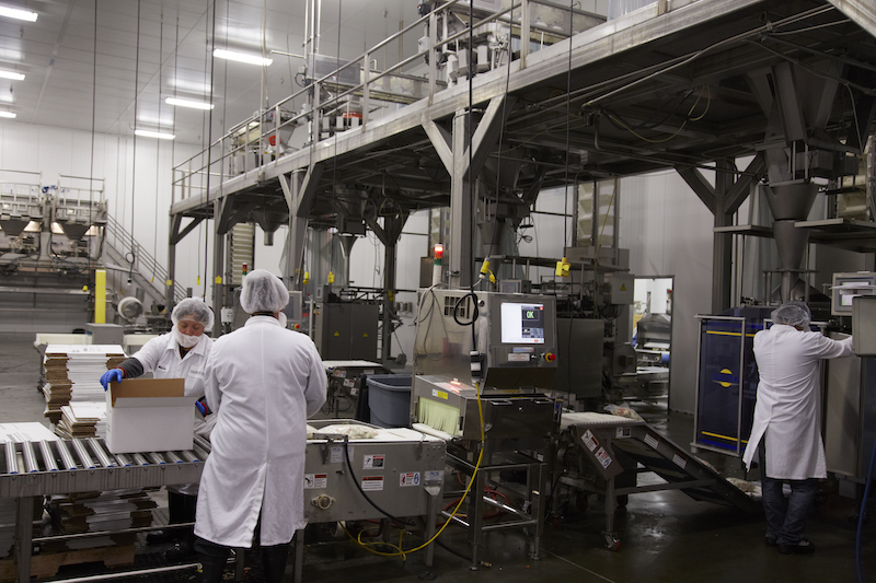 A look inside Haliburton manufacturing facility